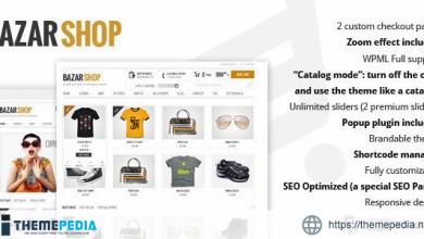 Bazar Shop – Multi-Purpose e-Commerce Theme [Free download]