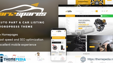 Azirspares – Auto Part & Car Listing WordPress Theme (RTL supported) [Updated Version]