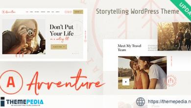 Avventure – Personal Travel & Lifestyle Blog WordPress Theme [Free download]