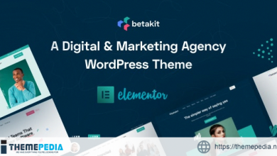 Betakit – Digital & Marketing Agency WordPress Theme [Free download]