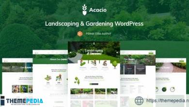 Acacio – Landscape & Gardening [Free download]