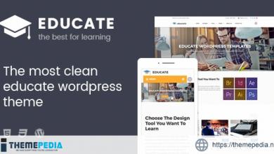 Educate – Education WordPress Theme [Free download]