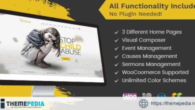 Child Guardian – Charity WordPress Theme [Free download]