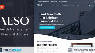 Aeso – Financial Advisor Theme [Updated Version]