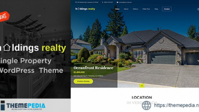 Holdings Realty – Single Property Theme [Free download]