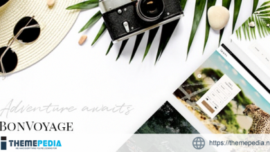 BonVoyage – Travel Agency and Tour Theme [Free download]