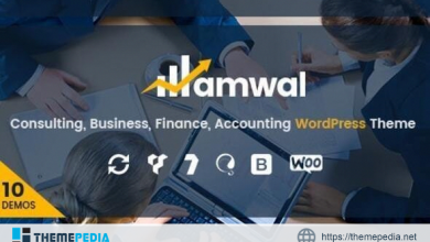 Amwal – Consulting Finance WordPress Theme [Free download]
