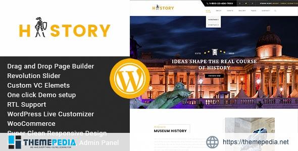 History- Museum & Exhibition WordPress Theme [Updated Version]