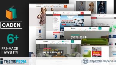 Caden – Mega Store Responsive WordPress Theme [Free download]