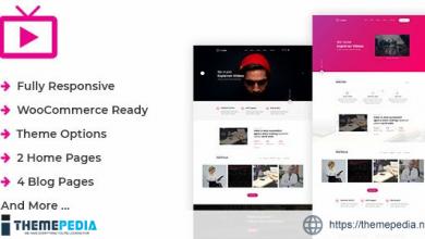 MaxVid – Video Agency WordPress Theme [Free download]