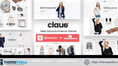 Claue – Clean, Minimal Elementor WooCommerce Theme [Free download]