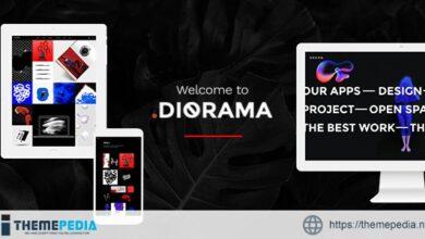 Diorama – Freelancer Portfolio & Agency Theme [Free download]