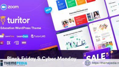Turitor – LMS & Education WordPress Theme [Free download]