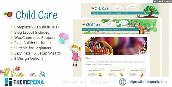Child Care Creative – WordPress Shop Theme [Free download]