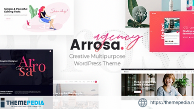 Arrosa – Startup Business Theme [Free download]