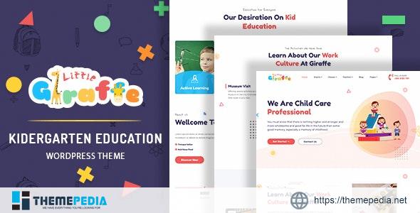 Giraffe – Kindergarten Education WordPress Theme [Free download]