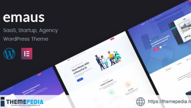 Emaus – SaaS App and Startup Elementor WordPress Theme [Free download]
