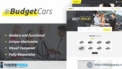 Budget Cars – Used Car Dealer & Rental WordPress Theme + Store [Latest Version]