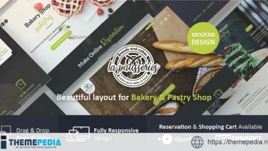 Cake & Bakery WordPress Theme [Updated Version]