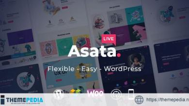 Asata – Responsive Multi-Purpose WordPress Theme [Latest Version]