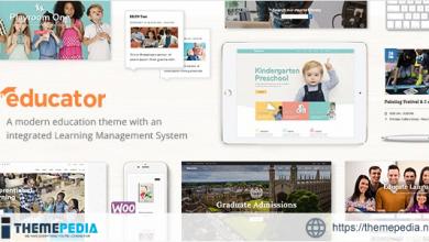 Educator – Education Theme for University & School [Free download]