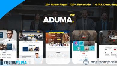 Aduma – Consulting, Finance, Business WordPress Theme [Free download]