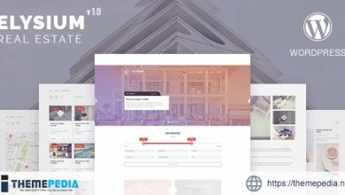 Elysium – Real Estate WordPress Theme [Free download]