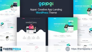 Appai App Landing WordPress Theme [Free download]
