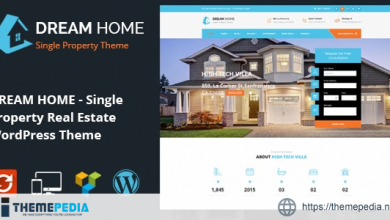 DREAM HOME- Single Property Real Estate WordPress Theme [Updated Version]