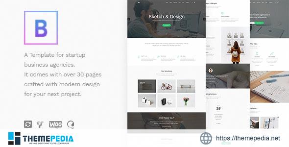BoTheme – Startup Business WordPress Theme [Updated Version]