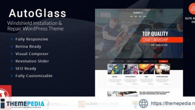 AutoGlass – Windshield Installation & Repair WordPress Theme [Latest Version]