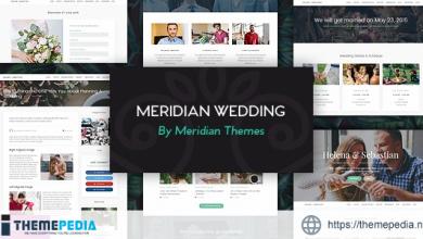 Meridian Wedding – Responsive WordPress Theme [Updated Version]