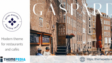 Gaspard – Restaurant and Coffee Shop Theme [Free download]