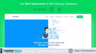 Hostino WHMCS Web Hosting WordPress Theme [Latest Version]