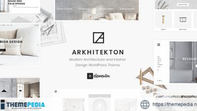 Arkhitekton – Modern Architecture and Interior Design WordPress Theme [Free download]