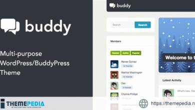 Buddy- Simple WordPress & BuddyPress Theme [nulled]