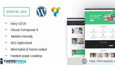 DigitalSEO – Marketing & SEO WordPress theme [Free download]