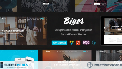 Biger – Responsive Multi-Purpose WordPress Theme [Updated Version]