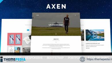 Axen – Personal Portfolio WordPress Theme [nulled]