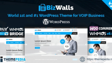BizWalls – Responsive VOIP & Virtual Phone Business WordPress Theme [Free download]
