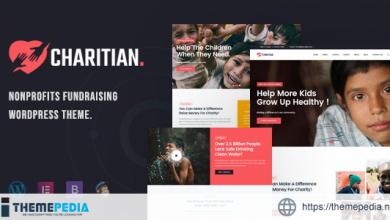 Charitian – NonProfit Charity WordPress Theme [Free download]