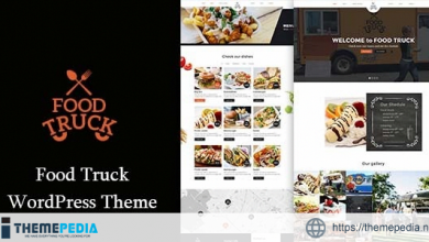 Food Truck – Modern Theme for Food truckers and Street vendors [Free download]