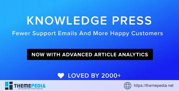 Knowledge Base – Helpdesk – Wiki – FAQ WordPress Theme [Updated Version]