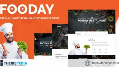 Fooday – Fresh & Luxury Restaurant, Coffee WordPress Theme [Latest Version]