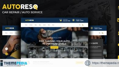 Autoresq – Car Repair WordPress Theme [Updated Version]