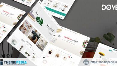 Dove – Handmade Crafts WooCommerce WordPress Theme [Free download]