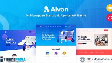 Alvon – Multipurpose Startup & Agency WordPress Theme [Latest Version]