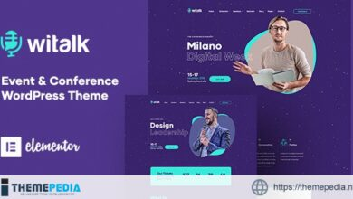 WiTalk – Event & Conference WordPress Theme [Free download]
