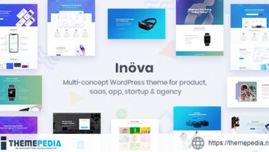 Inova – Multipurpose WordPress Theme For Startups & Agencies [Free download]