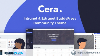 Cera – Intranet & Community Theme [Free download]